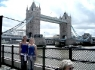 Elisa e Federica Vaccaro: Tower Bridge, London - Maggio 2009