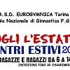 EGINNIC CENTRE: Estate Ragazzi con Eurogymnica Torino.