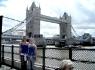 Elisa e Federica Vaccaro: Tower Bridge, London - Maggio 2009