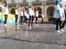Piccole Euroginnaste in Piazza Vittorio