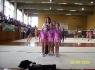 L'allenatrice Barbara Bandoli e alcune ginnaste